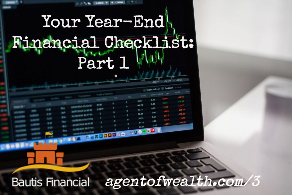 Your Year End Financial Planning Checklist Part 1 – Episode 3