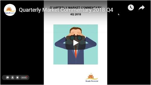 Quarterly Market Commentary – 2018 Q4 – Bautis Financial