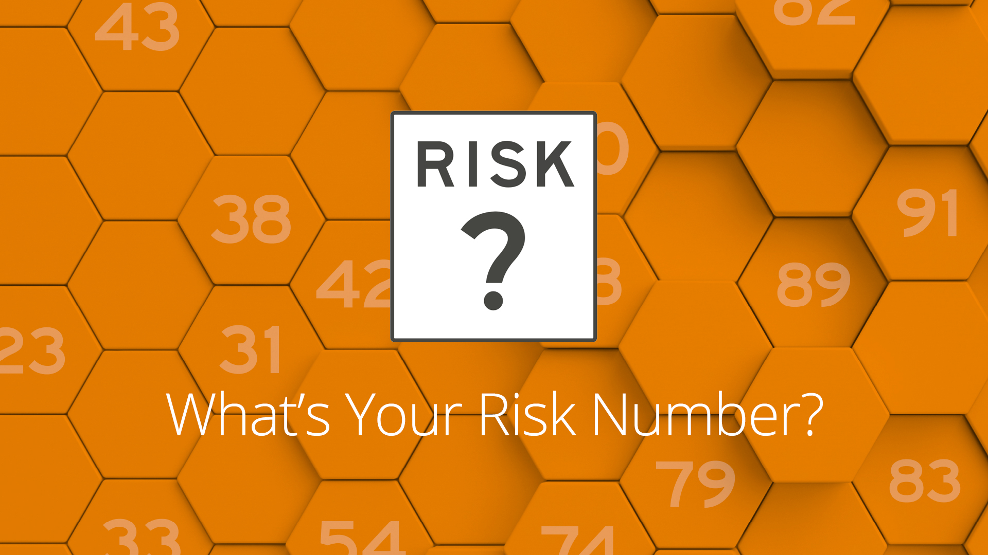 Understanding your investment risk