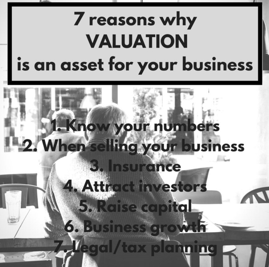 7 reasons why Valuation is an asset for your business