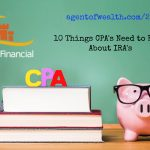 10 Things CPAs Should Know About IRAs: Part 1 – Episode 24