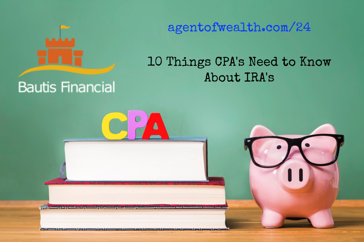 What CPAs should know about IRAs