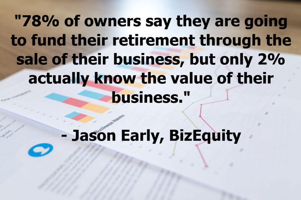 Only 2% of business owners know the value of their business