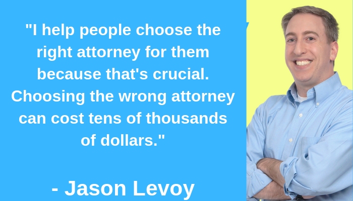 Choosing the right divorce attorney Jason Levoy