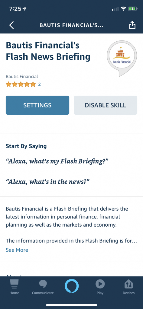 Long Term Care Planning With Raymond Lavine – Daily Flash Briefing