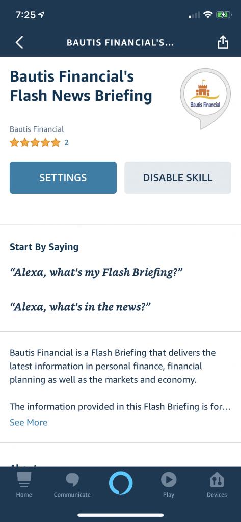 Good Credit Score Habits – Daily Flash Breifing