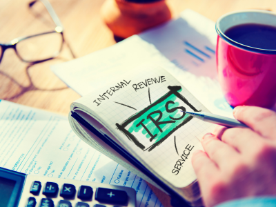 Tackling communication with the IRS relating to taxes.