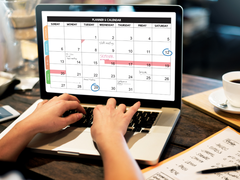 Spring 2021 Key Financial Dates