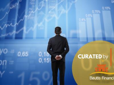 Investor monitoring the stock market.