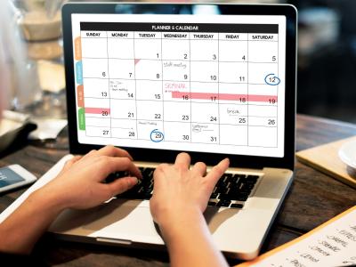 Third Quarter 2021 Calendar
